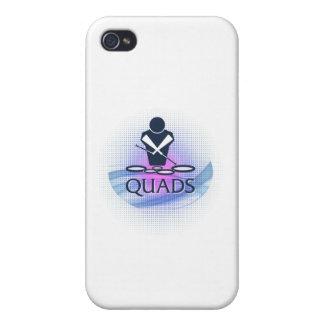Quads iPhone 4 Covers