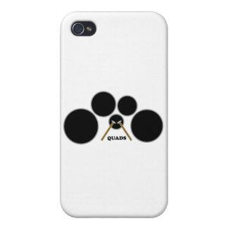 quads iPhone 4/4S cases
