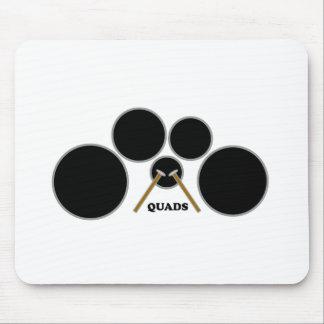 quads mouse pad