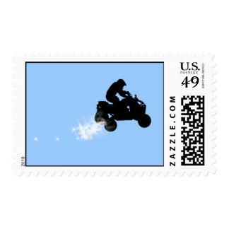 quads. postage stamps