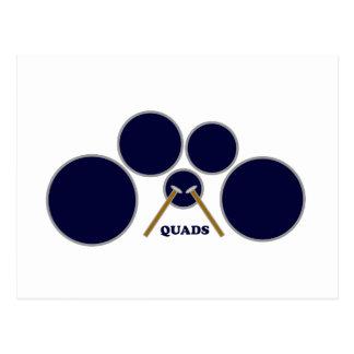 quads postcard
