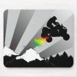 quads. rainbow dirt trail. mouse pads