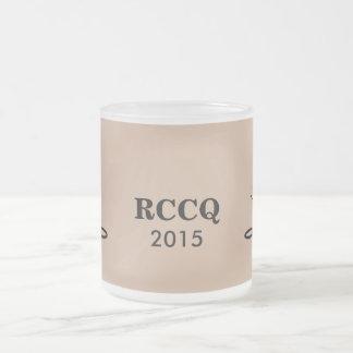 QUADS - RCC TENORS 2015 FROSTED GLASS COFFEE MUG