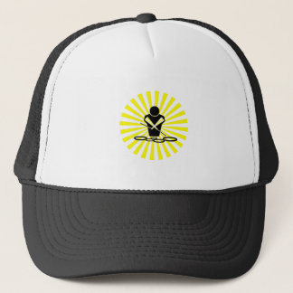 QUADS - SUN BURST - POW BANG - WOW - TENORS! TRUCKER HAT