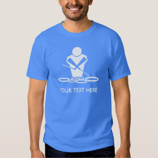 Quads - Tenor Drums - Add Your Own Text T-shirt