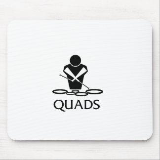 QUADS - Tenor Drums Mouse Pad
