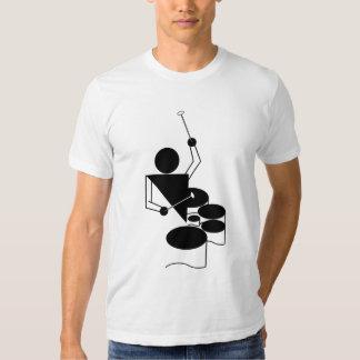 QUADS - Tenor Drums - New Guert Design! Tee Shirt