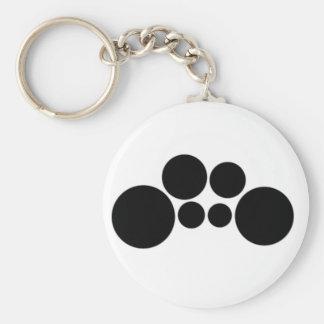 Quads - Two spocks Basic Round Button Keychain