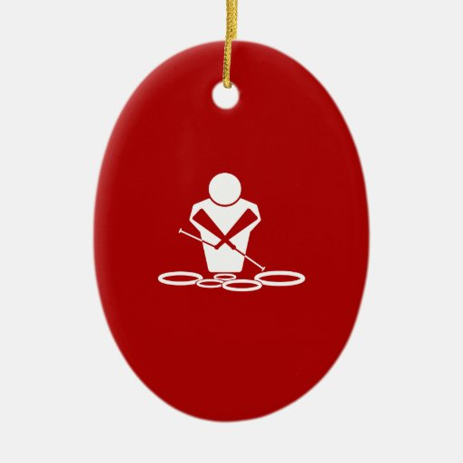 Red And Gold Christmas Tree Ornaments
