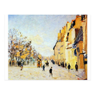 Quai de Bercy, effets de neige by Armand Guillaumi Postcard