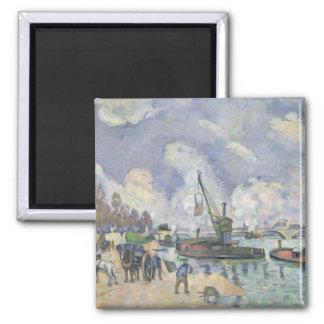 Quai de Bercy, Paris, 1873-75 Magnet