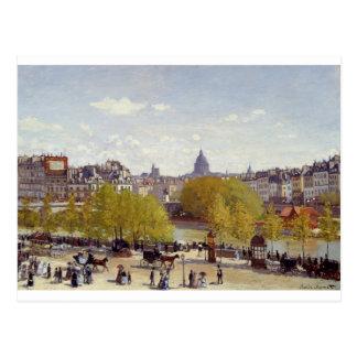 Quai du Louvre (1867) Postcard