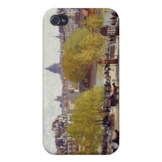 Quai du Louvre - Claude Monet iPhone 4/4S Carcasa
