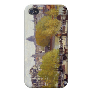 Quai du Louvre - Claude Monet Cases For iPhone 4