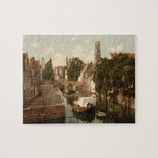 Quai Vert, Bruges Belgium Jigsaw Puzzles