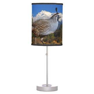 QUAIL AND SHASTA TABLE LAMP