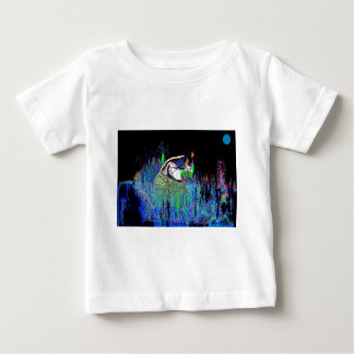 Quail At Night Baby T-Shirt