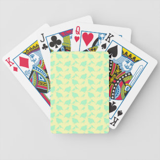 quail bicycle playing cards
