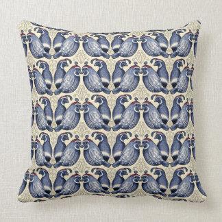 Quail Bird Pattern Decorative Throw Pillow