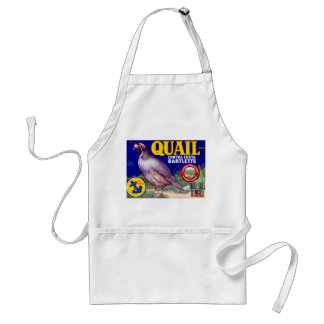 Quail Brand Contra Costa Bartletts Adult Apron