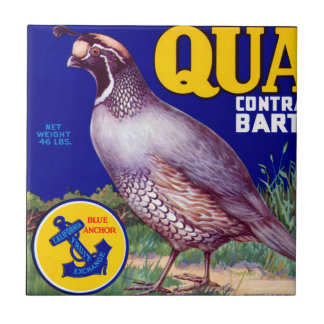 Quail Brand Contra Costa Bartletts Tile
