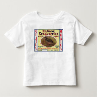 Quail Eatmor Cranberries Brand Label Toddler T-shirt