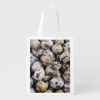 Quail Eggs Grocery Bag