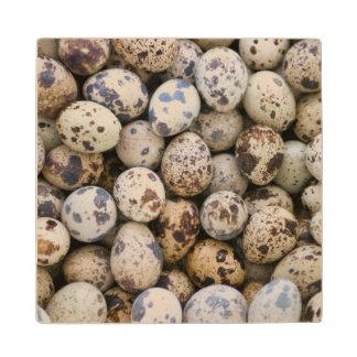 Quail Eggs, Huaraz, Cordillera Blanca, Ancash Wooden Coaster