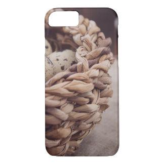 Quail Eggs in Nest iPhone 7 Case