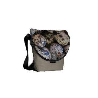 Quail Eggs Messenger Bag