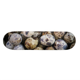 Quail Eggs Skateboard Deck