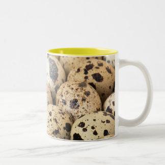Quail Eggs Two-Tone Coffee Mug