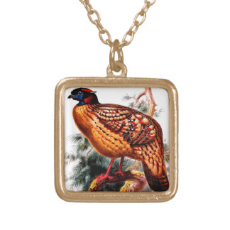 Quail Gold Plated Necklace