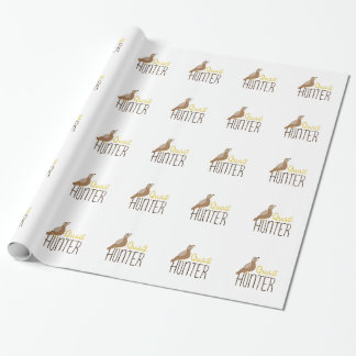 Quail Hunter Gift Wrapping Paper