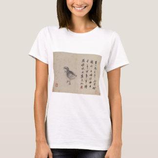 Quail (Sketches from Life) by Shen Zhou T-Shirt