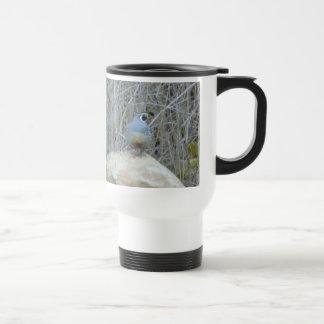 Quail travel mug stainless steel travel mug