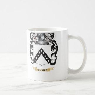 Quaile 2 Coat of Arms (Family Crest) Classic White Coffee Mug