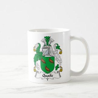 Quaile Family Crest Classic White Coffee Mug