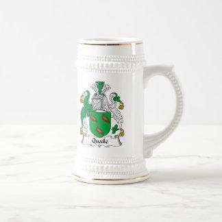 Quaile Family Crest 18 Oz Beer Stein