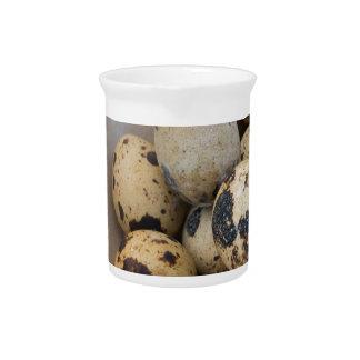 Quails eggs pitcher