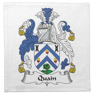 Quain Family Crest Napkins