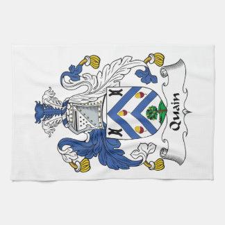 Quain Family Crest Towel