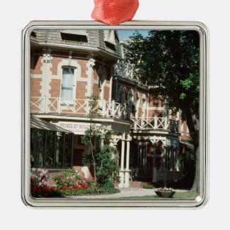Quaint architecture exterior, Canada Christmas Ornament