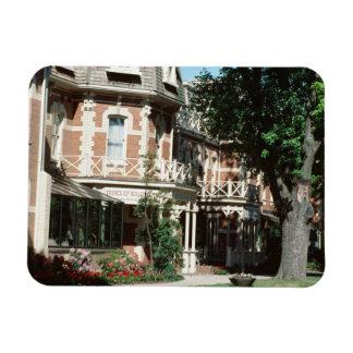 Quaint architecture exterior, Canada Rectangular Magnet