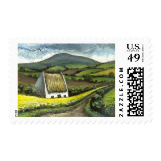 Quaint cottage stamp