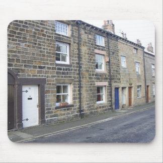 Quaint English Cottages Mouse Pad