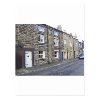 Quaint English Cottages Postcard