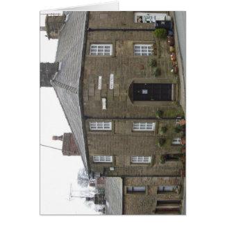 Quaint English Village Card