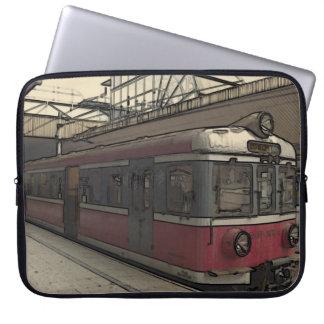Quaint Krakow Train Laptop Sleeves