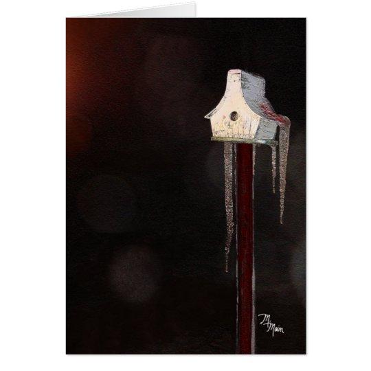 Quaint Little Birdhouse Card